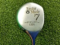 TaylorMade USA 7 Metalwood 27.5* / RH / Regular Steel / dw0383