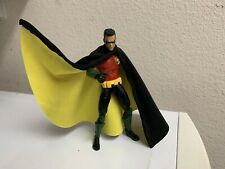 Custom Dc Collectibles Red Robin Wired Cloth CAPE ONLY 1/12 Dc Multiverse Batman