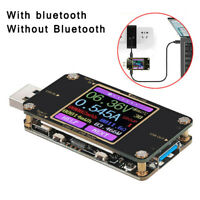Digital Color LCD Bluetooth USB-C Power Meter Tester PD Battery Multi-Meter 0-3A