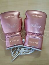 Customized Boxing Sparring Muay Thai Boxing Gloves genuine Leather No Grant