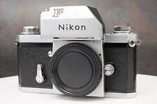 :Nikon F Photomic Chrome 35mm Film SLR Camera Body - Read Description
