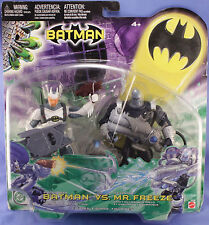 DC Superheroes Arctic Shield Batman Ice Cannon Mr Freeze Figures Two Pack 2003
