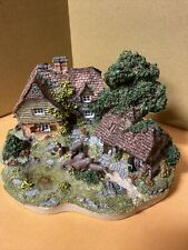 Danbury Mint Rare Vintage The Dairy Farm Jane Hart Cottage 1994 Collectible