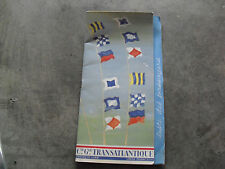 Vintage 1960 French Line Cruise Ship Staff and Passenger List Booklet