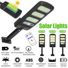 213 LED Solar PIR Motion Sensor Wall Light Outdoor Garden Street Security Light