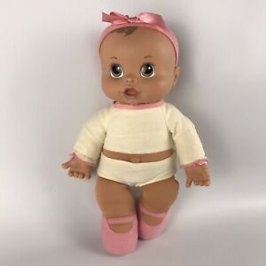 BABY ALIVE Soft Body Baby Doll Giggles Gurgles Coo Sounds 2007 Ballerina Ballet