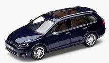 NEW GENUINE VW GOLF MK7 ESTATE NIGHT BLUE METALLIC 1:43 SCALE DIECAST MODEL CAR