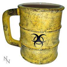 Nemesis Now Toxic Waste Mug Tea Coffee Cup Bio Hazard Barrel Gift Zombie Hazmat