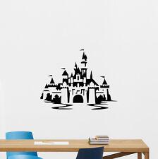 Disneyland Castle Wall Decal Vinyl Sticker Disney Nursery Child Decor Art 241crt