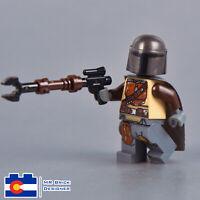 LEGO STAR WARS The Mandalorian MINIFIG brand new from Lego set #75254 Boba Fett