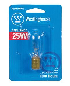 Westinghouse Lighting Corp 25-watt T8 Clear Tubular Bulb