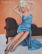 DANIELA KATZENBERGER - A2 Poster (XL - 42 x 55 cm) - Clippings Fan Sammlung NEU