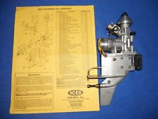 K&B 3.5 Outboard Engine, .21 K&B outboard engine for 3.5 nitro tunnel boat,#8907