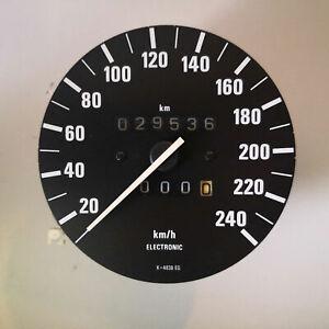 BMW E30 Tacho / 29.536 km / max. 240 km/h für Kombiinstrument MOTOMETER 1377343