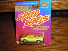 RARE Speed Rebels Vicious Villain 1970's Plymouth Barracuda CUDA Yellow FREE S/H