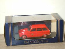 Peugeot 204 Break Pompier 1966 van Eligor 1:43 in Box *26056