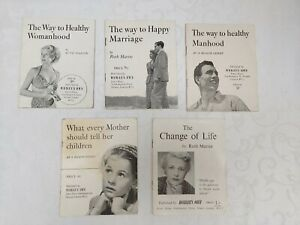 5 VINTAGE WOMANS OWN HEALTH, WELL BEING BOOKLETS BY RUTH MARTIN &  HEALTH EXPERT