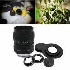 FUJIAN 25mm f/1.4 c mount cctv f1.4 lens for Canon EOS M EF-M Mirrorless Camera