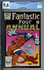 FANTASTIC FOUR ANNUAL #17 CGC 9.6 WHITE PAGES // JOHN BYRNE COVER ART + STORY