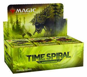 Time Spiral Remastered Draft Booster Box 36 ct. TSR MTG SEALED SHIPS 3/19!
