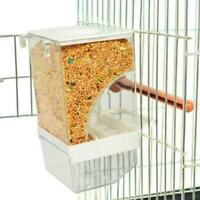 Bird Cage Auto Food Seed Feeder Automatic European Quality No More Mess