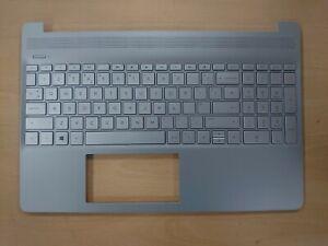 New HP 15S-FQ keyboard Palmrest Silver