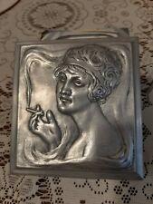 More details for art deco jewellery/ cigarette box. flapper 1920s