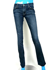 7  Seven For All Mankind Kate Straight Low Rise Skinny Jeans 27 4 S Pants ZigZag