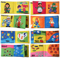 Cuadro de tela suave conocer libro bebé inteligencia desarrollo libros para bebé