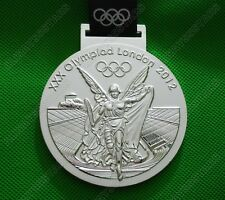 London 2012 Olympic Winners Silver Medal with Ribbon 1:1 Full Size
