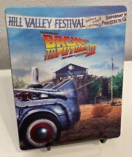 Back to the Future Part III (1990) - 4K UHD Blu-ray STEELBOOK - Please Read