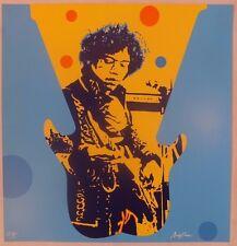 Ivan Messac Sérigraphie My Generation Jimi Hendrix 2013