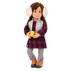 Our Generation - Outfit Winterkleid mit Ohrenschützer