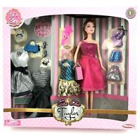 """New Doll Toys Hunson Soo Chic Taylor Let's Shop 12"""" Doll Playset Accessories"""