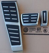 Audi S6 S7 RS6 RS7 Genuine RHD OE Pedals Pedal pads Cover set Foot rests A6 A7 S