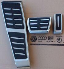 Audi S6 S7 RS6 RS7 Genuine RHD OE Pédales Pédale Pads Cover Set Repose-pieds A6 A7 S