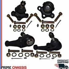 4 Front Upper Lower Ball Joints Ford Victoria Checker Custom Thunderbird 55-57