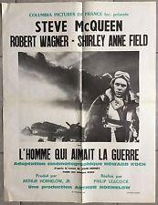 Affiche L'HOMME QUI AIMAIT LA GUERRE War Lover STEVE McQUEEN Robert Wagner *