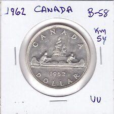 Canada  1962  Large  Silver   Dollar   (80%)   Coin