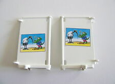 PLAYMOBIL (Y1141) HOPITAL - Paravent Affiche Cigogne Cabinet Dentiste 3762