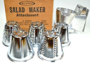 New Old Stock - RIVAL Salad Maker Attachment * Made in U.S.A.