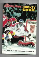 1996-97 The Sporting News Hockey Guide---Patrick Roy   VG