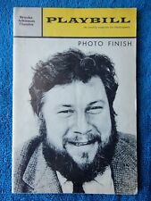 Photo Finish - Brooks Atkinson Theatre Playbill - May 6th, 1963 - Peter Ustinov