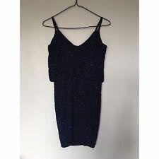New Look Navy Sparkled Cami Dress