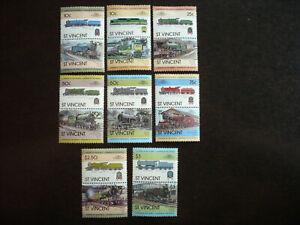 Stamps - St. Vincent - Scott# 699-706