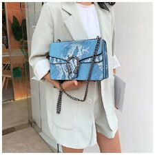 Vintage Women Hand Bag Luxury SnakeSkin Women Shoulder Bags Female Crossbody Bag