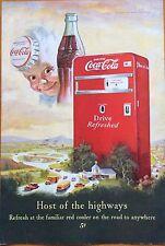 1950's Coca-Cola Magazine Ad Coke Print (not Original)