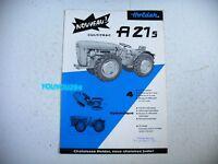 publicité prospectus agriculture CULTITRAC HOLDER A 21 S L. BARA