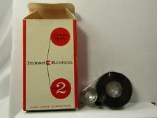 Antique Remington Standard Electric 17 & Port. NS #12 Black Med Ribbon - 1 ITEM