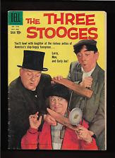 """1959 1st Issue """" The Three Stooges """" Tv Great Dell Photo Comic Book Complete !"""